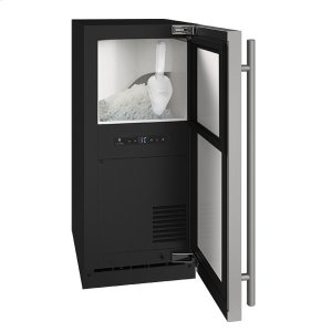 """U-LineHnb115 / Hnp115 15"""" Nugget Ice Machine With Stainless Solid Finish, No (115 V/60 Hz Volts /60 Hz Hz)"""