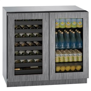 "U-Line36"" Beverage Center With Integrated Frame Finish (115 V/60 Hz Volts /60 Hz Hz)"