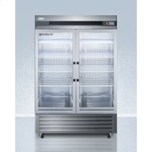 Performance Series Pharma-lab 49 CU.FT. All-refrigerator In Stainless Steel With Glass Doors