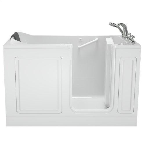 Acrylic Luxury Series 32x60 Air Bath Walk-in Tub with Tub Filler, Right Drain  American Standard - White