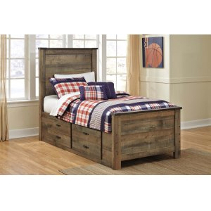 Ashley Furniture Trinell - Brown 4 Piece Bed Set (Twin)