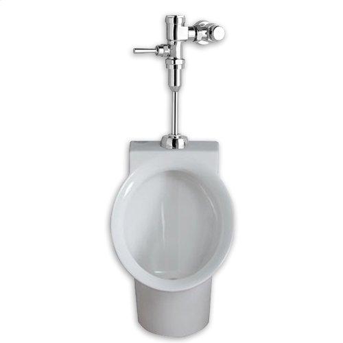 decorum-0125-gpf-urinal-system-with-manual-flush-valve-24183 - White