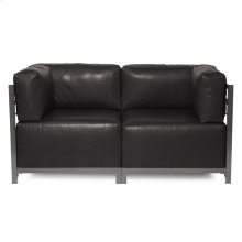 Axis 2pc Sectional Avanti Black Titanium Frame