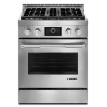 "Pro-Style® 30"" Gas Range with MultiMode® Convection Stainless Steel"