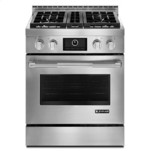 "JENN-AIRPro-Style(R) 30"" Gas Range with MultiMode(R) Convection Stainless Steel"