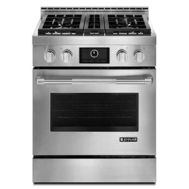 """Jenn-Air Pro-Style® 30"""" Gas Range with MultiMode® Convection Stainless Steel"""