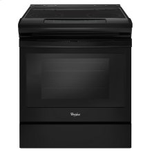 4.8 cu. ft. Guided Electric Front Control Range With The Easy-Wipe Ceramic Glass Cooktop