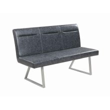 Contemporary Grey Bench