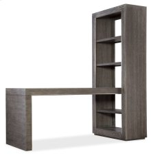 Home Office House Blend 60in Peninsula Desk