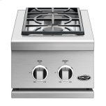 """Dynamic Cooking Syst14"""", Series 9, Double Side Burner, Lp Gas"""