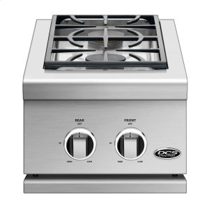 "Dcs14"", Series 9, Double Side Burner, Natural Gas"