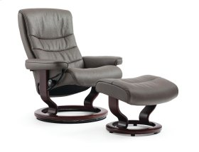 Stressless Nordic Large Classic Base Chair and Ottoman