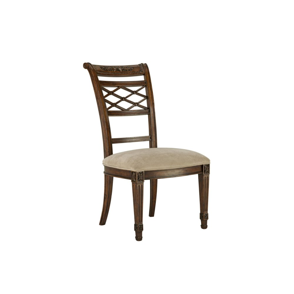 Lattice Side Dining Chair