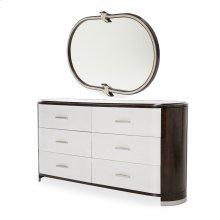 Dresser W/ Mirror (2 Pc)
