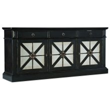 Home Entertainment Sanctuary Premier Entertainment Console Noir