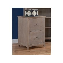File Cabinet in Taupe Gray