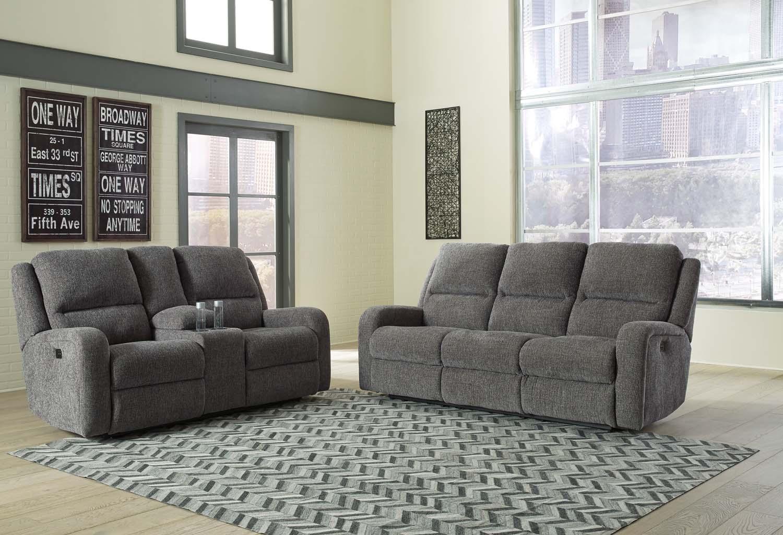 Hidden · Additional PWR REC Sofa With ADJ Headrest