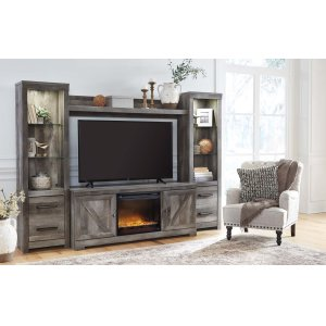 Ashley FurnitureWynnlow - Gray 5 Piece Entertainment Set
