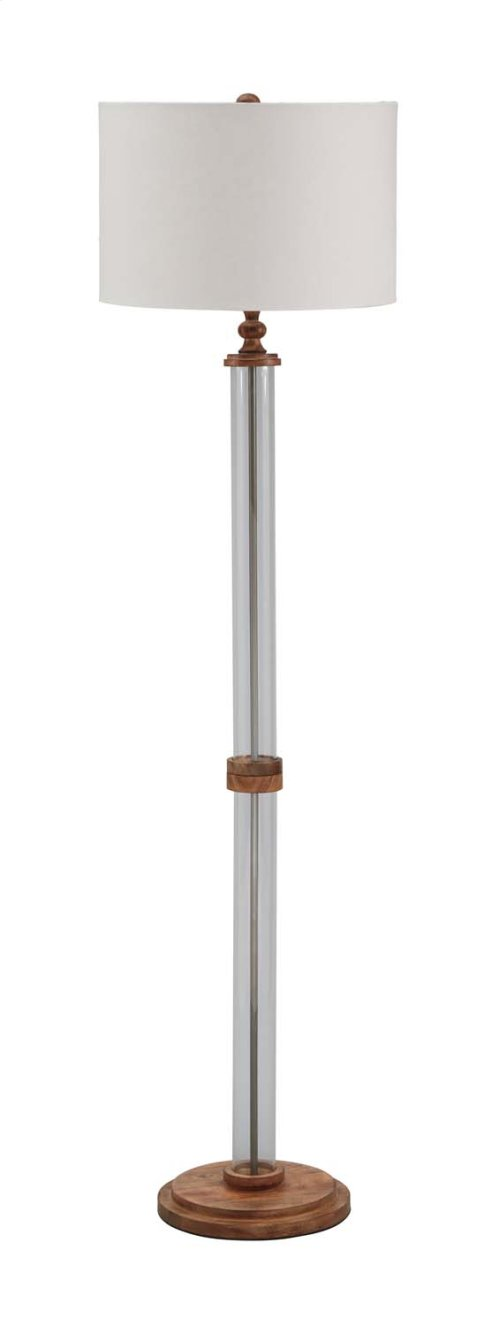 Glass Floor Lamp (1/CN)