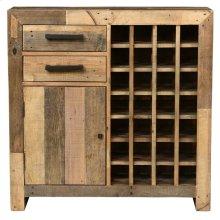 Omni Wine Cabinet Natural