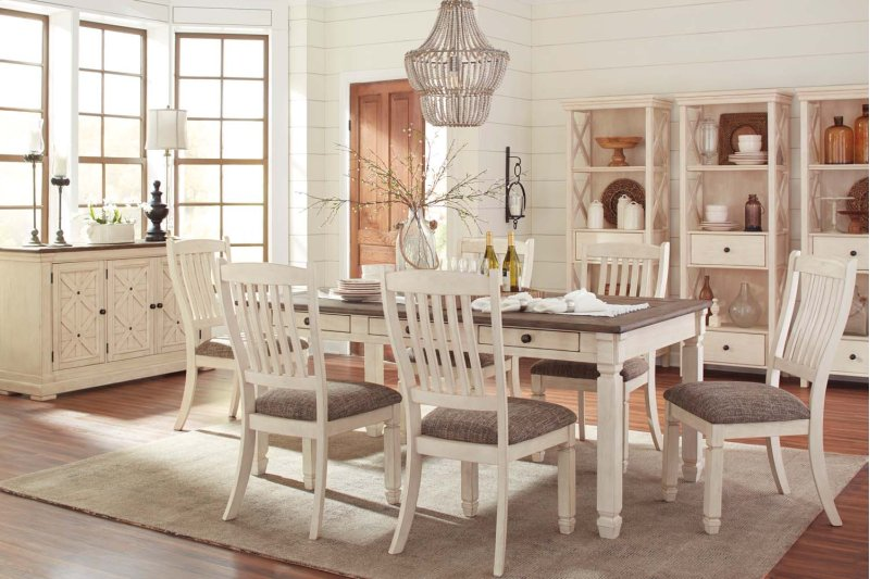 Bolanburg Antique White 5 Piece Dining Room Set