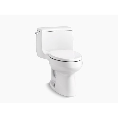Dune Comfort Height One-piece Elongated 1.28 Gpf Toilet With Class Five Flushing Technology and Left-hand Trip Lever