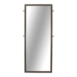 Tarah Industrial Graphite Floor Mirror