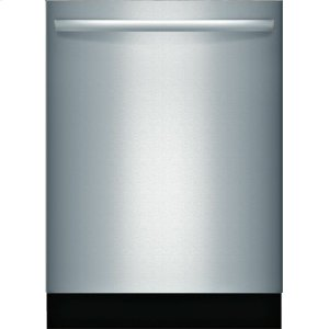 "BoschADA 24"" 800 Series Bar Hndl, 6/5 Cycles, 3rd Rck, 44 dBA, RckMatic,15 Pl Stgs, InfoLight - SS"