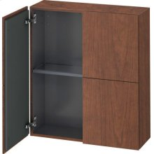 Semi-tall Cabinet, American Walnut (real Wood Veneer)