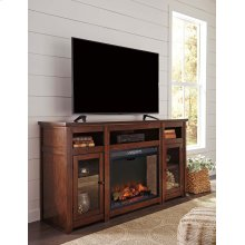 Harpan - Reddish Brown 2 Piece Entertainment Set