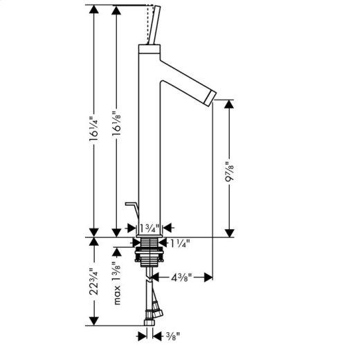 Chrome Starck Single-Hole Faucet, Tall