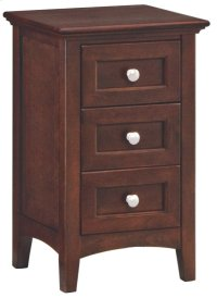 CAF Small 3-Drawer McKenzie Nightstand Product Image