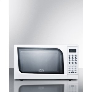 SummitMid-sized Microwave Oven With A Fully White Finish; Replaces Sm900wh