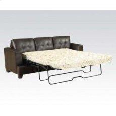 Brown Bnd L. Sofa W/q. Sleeper Product Image