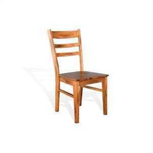 Sunny DesignsSedona Ladderback Chair w/ Wood Seat