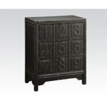 Ant. Black Console Table
