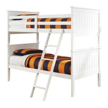Lulu - White 3 Piece Bed Set (Twin)