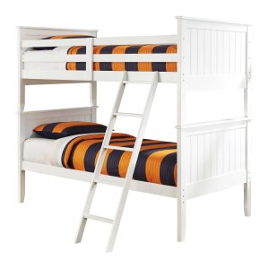 Ashley Furniture Lulu - White 3 Piece Bed Set (Twin)