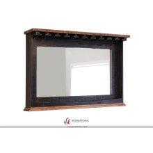 Mirror Bar w/Glass holders & Shelf
