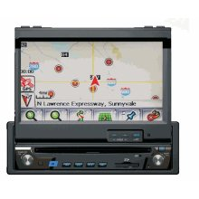In-Dash DVD Multimedia Receiver With Navigation