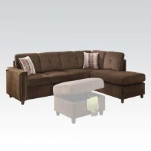 BELVILLE BEIGE SECTIONAL SOFA