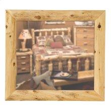 Cedar Mitered Corner Mirror - Custom Size - Traditional Cedar