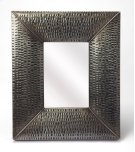 Hammered gray frame brings a touch of shimmering appeal to your ensemble, blending an industrial design with contemporary style, this mirror is perfect to bring dimension to your entry, hall or living area. Product Image