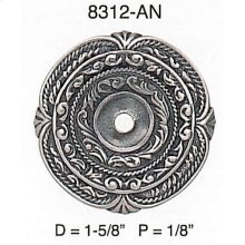 Glendale Back Plate/ See Matching Knob 7705