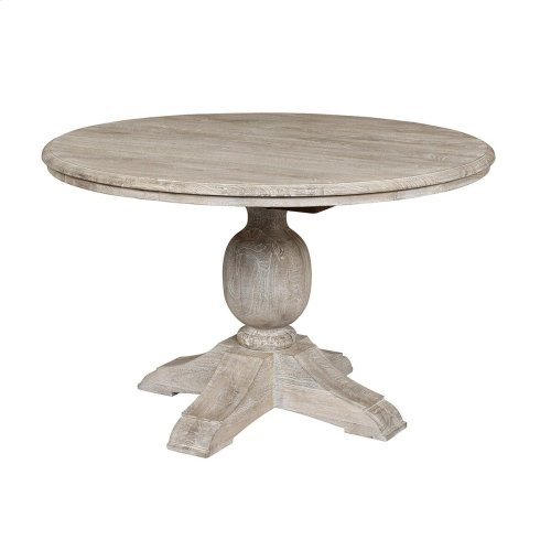 "Ventura Dining Tbl 48"" Antique Wht"