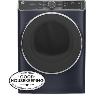 GE®7.8 cu. ft. Capacity Smart Front Load Electric Dryer with Steam and Sanitize Cycle
