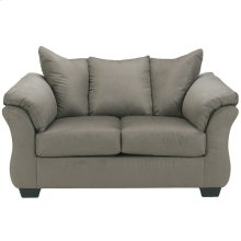 Signature Design by Ashley Darcy Loveseat in Cobblestone Microfiber