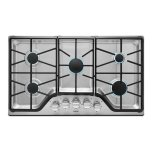 Maytag 36-inch Wide Gas Cooktop with DuraGuard Protective Finish