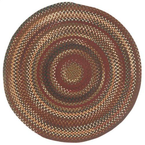 Gramercy Cinnabar Braided Rugs (Custom)