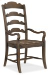 Dining Room Twin Sisters Ladderback Arm Chair